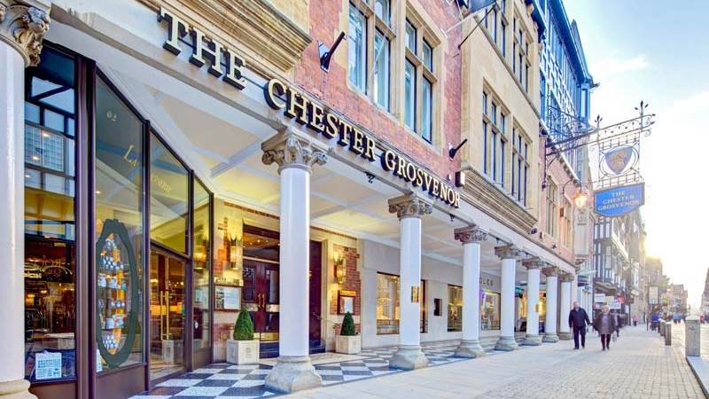External View of The Chester Grosvenor Hotel