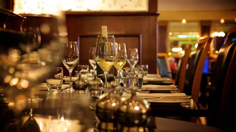 La Brasserie Wine Dining at out luxury hotel in Chester