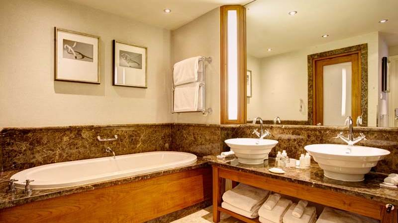 Luxury bathroom of  the presidential suite in our 5 star hotel in chester