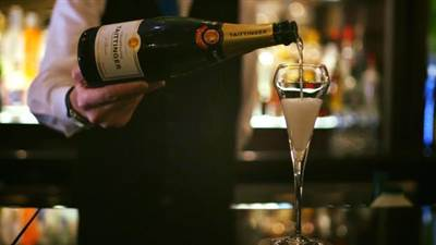 Champagne Sunday at La Brasserie